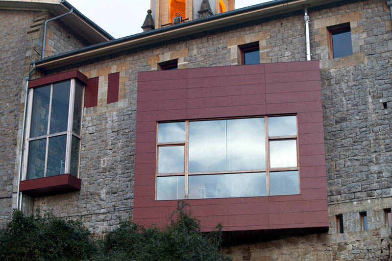 Rehabilitación de edificio religioso