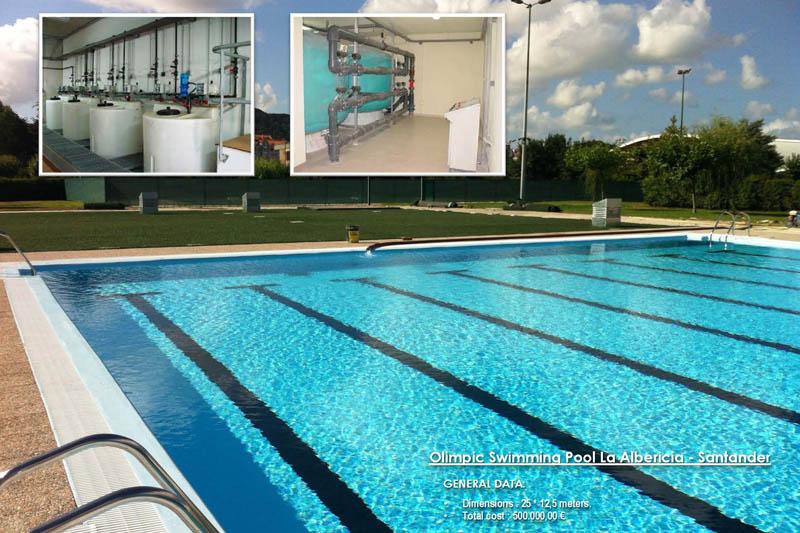 tratamiento de agua en piscina ol mpica tandem group